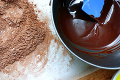 chocolate pudding elements