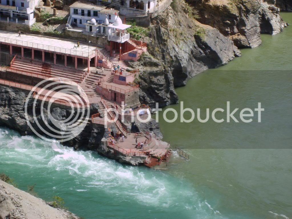 River Ganga at Devprayag, Rishikesh, Haridwar - Sri Ramanin Padhayil