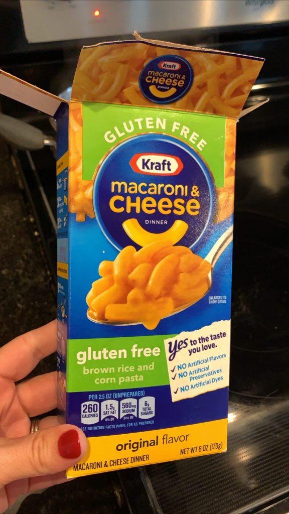 Gluten Free KRAFT Macaroni & Cheese - I'm A Celiac