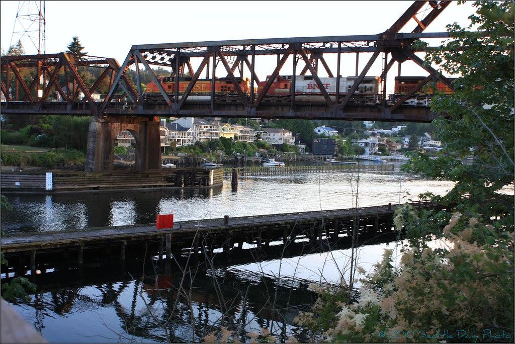 Sunday Bridge Series # 14: Great Northern Railroad Bridge