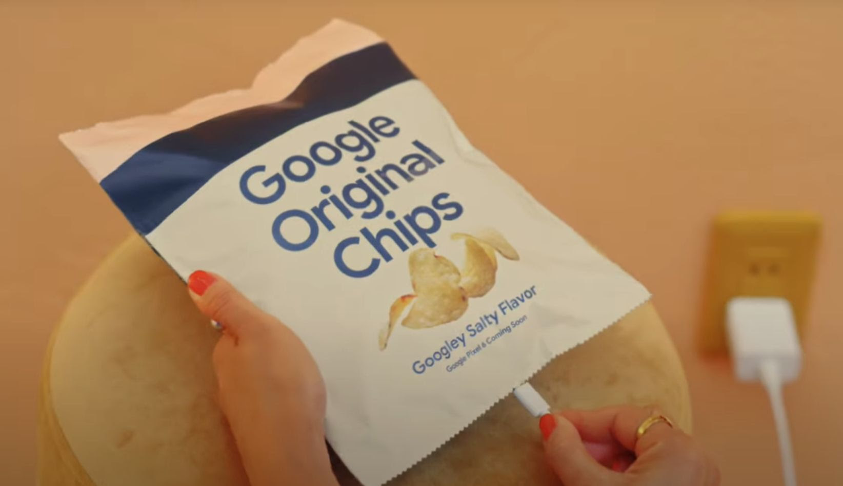 Yes, real Google Pixel 6 potato chips in Japan were briefly available. Tasty.