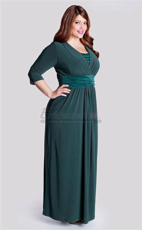 Ankle Length V Neck Ink Blue Knitwear Bridesmaid Dress