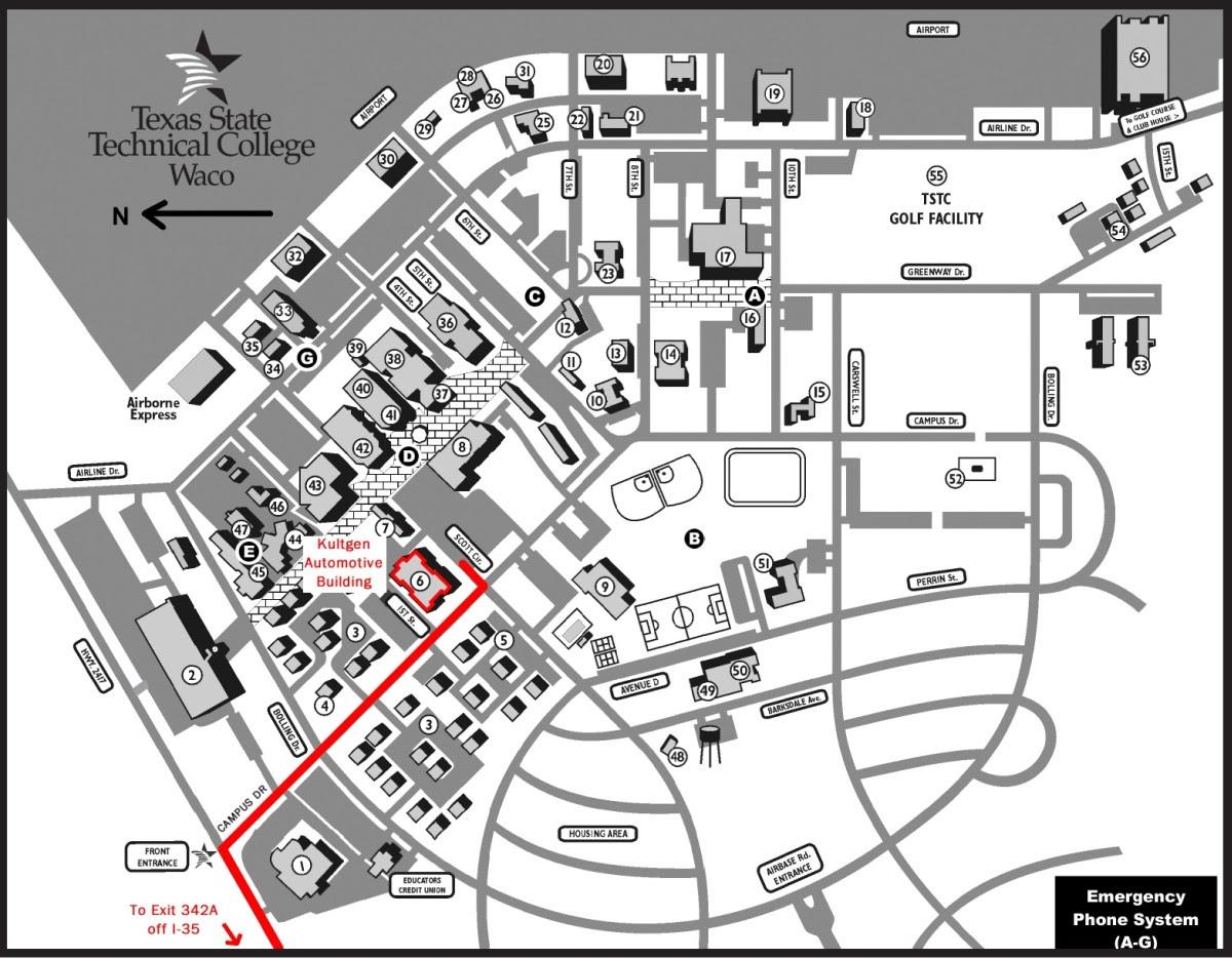 tstc harlingen campus map Tstc Harlingen Map Gadgets 2018 tstc harlingen campus map