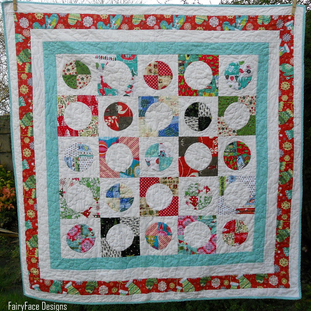 Christmas quilt finished