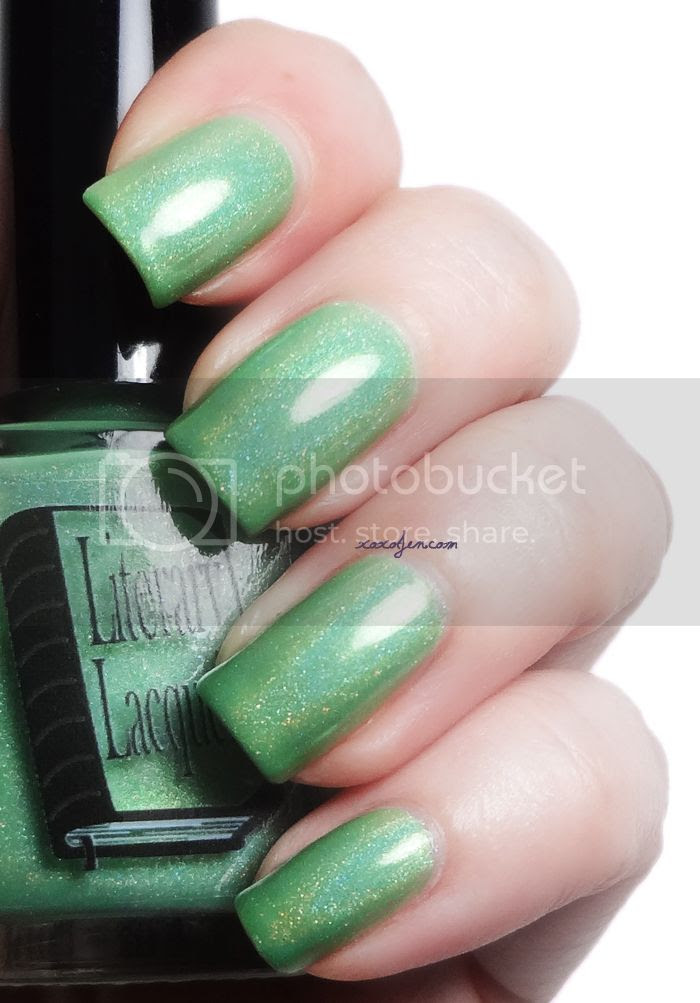 xoxoJen's swatch of Literary Lacquer - The Mad Ones
