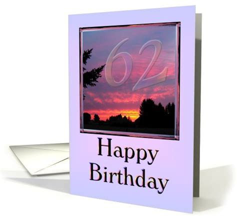 Happy 62nd Birthday Dad card (504999)