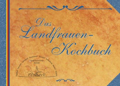 Das Landfrauen Kochbuch Download Pdf Landfrauenverein Niebüll