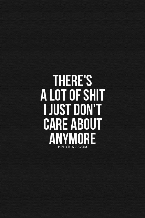 Quotes About Person Who Doesnt Care 24 Quotes
