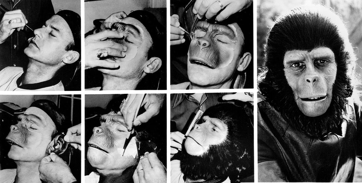 Maquillaje El planeta de los simios