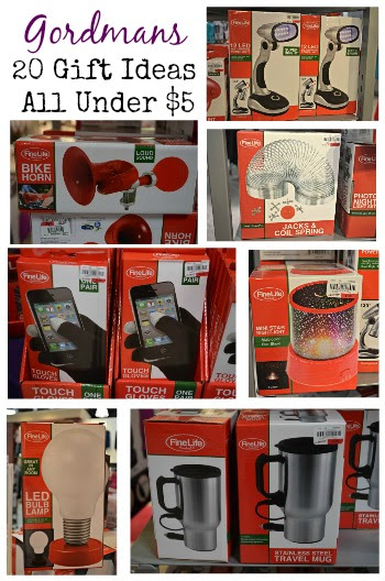 Gordmans 15 Off Coupon 20 Gift Ideas All Under 5 Christmas
