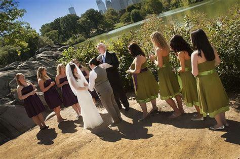 Central Park LGBT Wedding Ceremony performed by Reverend