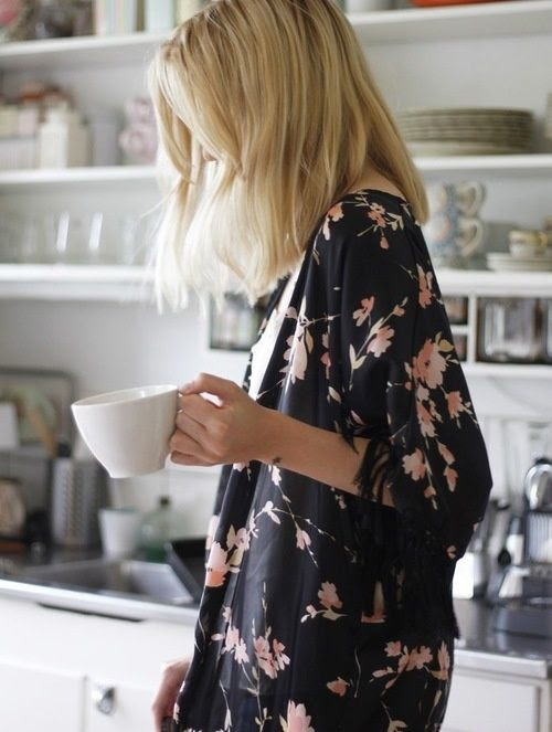 Floral : Morning Coffee