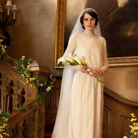 Downton Abbey from Best TV & Movie Wedding Dresses   E! News