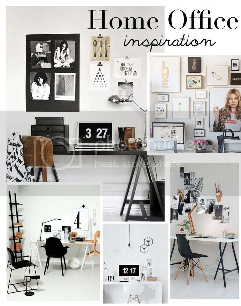 White Home Office Inspiration Interior Design Blogger