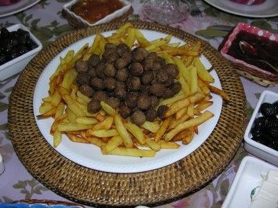Patates & Köfte Kızartması
