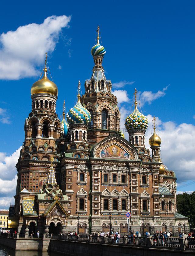 Kerk van de Verlosser op Bloed, St. Petersburg