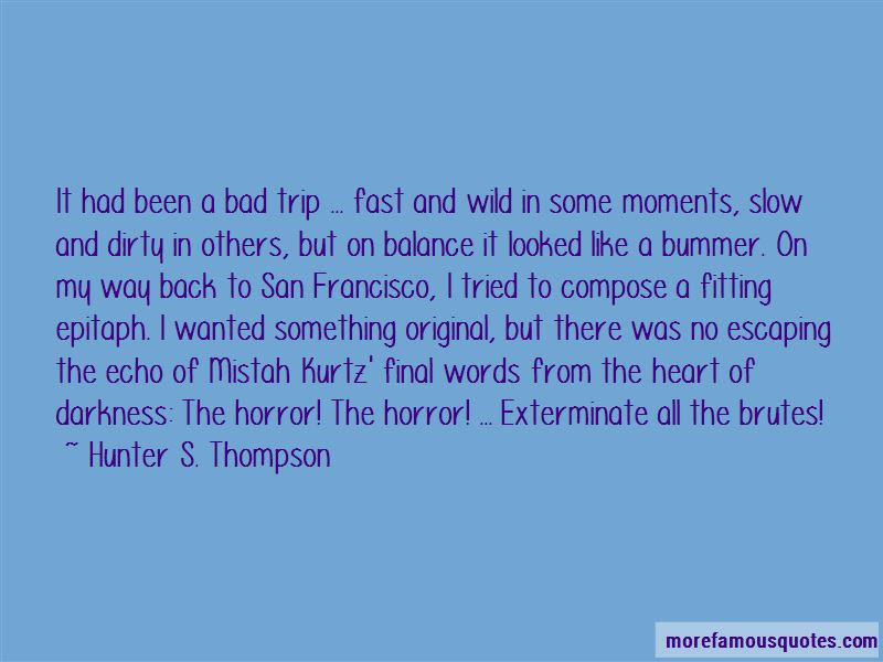 Quotes About Kurtz In The Heart Of Darkness Top 2 Kurtz In The