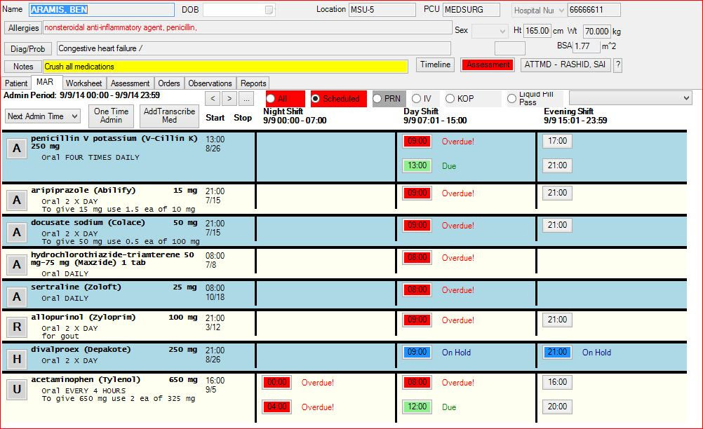 Free Electronic Medication Administration Record Software