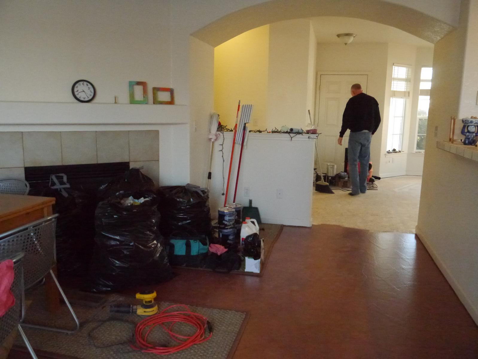 Redoing Kitchen Floor Do U Have To Raise The Cabinets