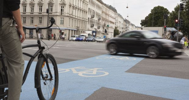 Copenhagen built proper, one-way cycle lanes with kerbs separating them from pedestrians and motorists. Anything else, the Danes say, is a waste of time, money and effort. Photograph: Thinkstock