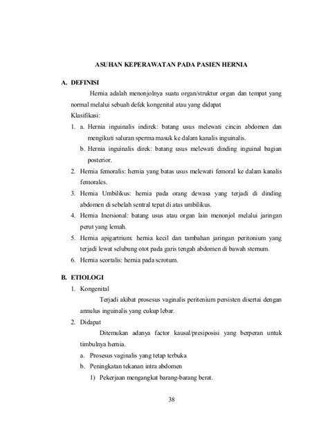 5. asuhan keperawatan pada hernia