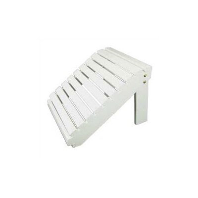 Adirondack Ottoman Finish: Pure White