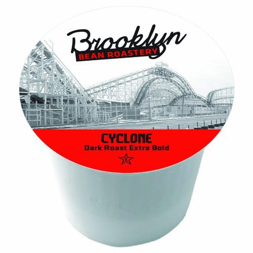 Brooklyn Beans Cyclone Single Serve Coffee Cups, 24 Count