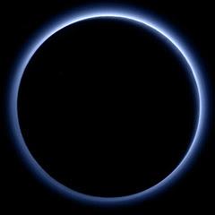 Hubble foto de Plutão e Caronte