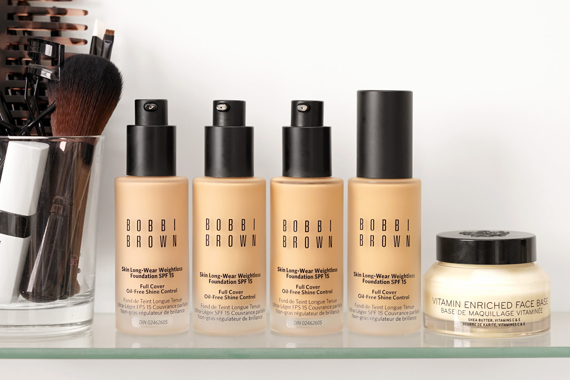 Bobbi Brown Skin Long Wear Weightless Foundation Review Swatches