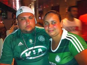 Alex e Ariane Vieira: (Foto: Marcelo Mora/G1)