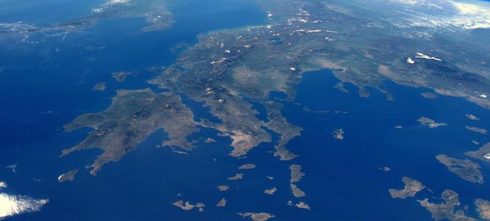Αστροναύτης «χαζεύει» τα ελληνικά νησιά από το διάστημα [εικόνα]