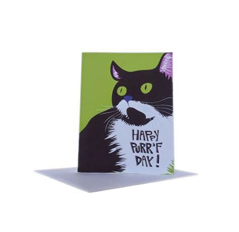Printable Cat Birthday Card Funny Instant Download for Cat
