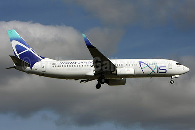 Axis Airways Boeing 737-86N WL F-GZZA (msn 28591) LIS (Pedro Baptista). Image: 903223.