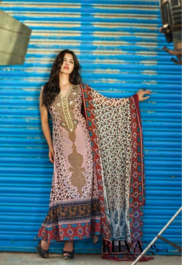 Womens-Girl-Dress-Reeva-Designer-Embroidered-Lawn-Collection-2013-By-Shariq-Textile-7