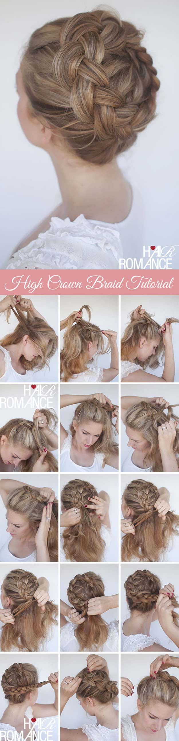 40 of the Best Cute Hair Braiding Tutorials - DIY Projects for Teens
