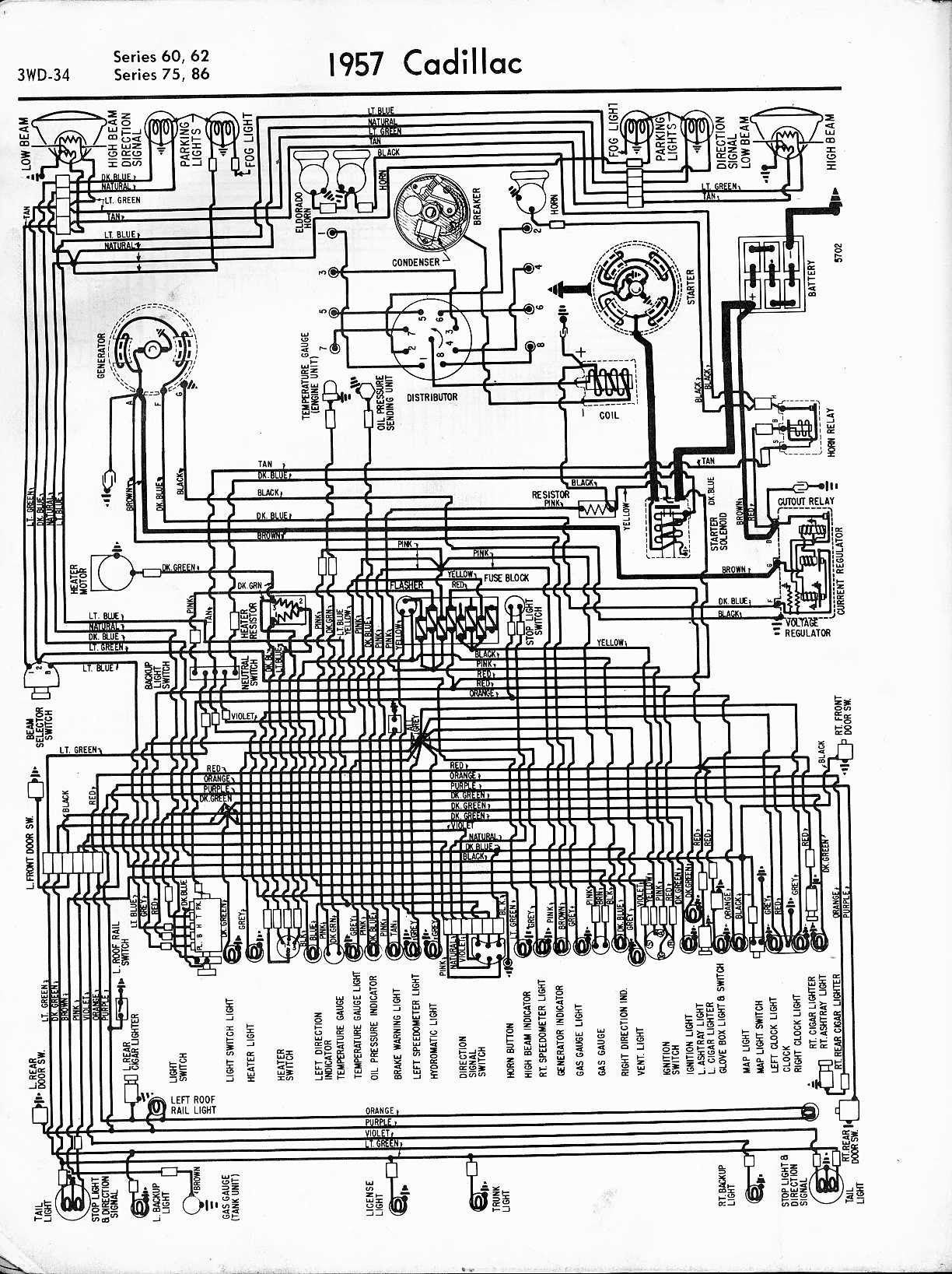 Wiring Diagram Database: 1999 Cadillac Deville Cooling ...