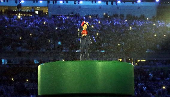 El Maracaná, el escenario de despedida de los Juegos Olímpicos.