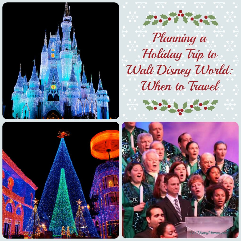 Disney Mamas Planning a Holiday Trip to Walt Disney World