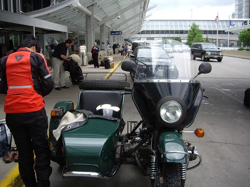 Ural visits the airport