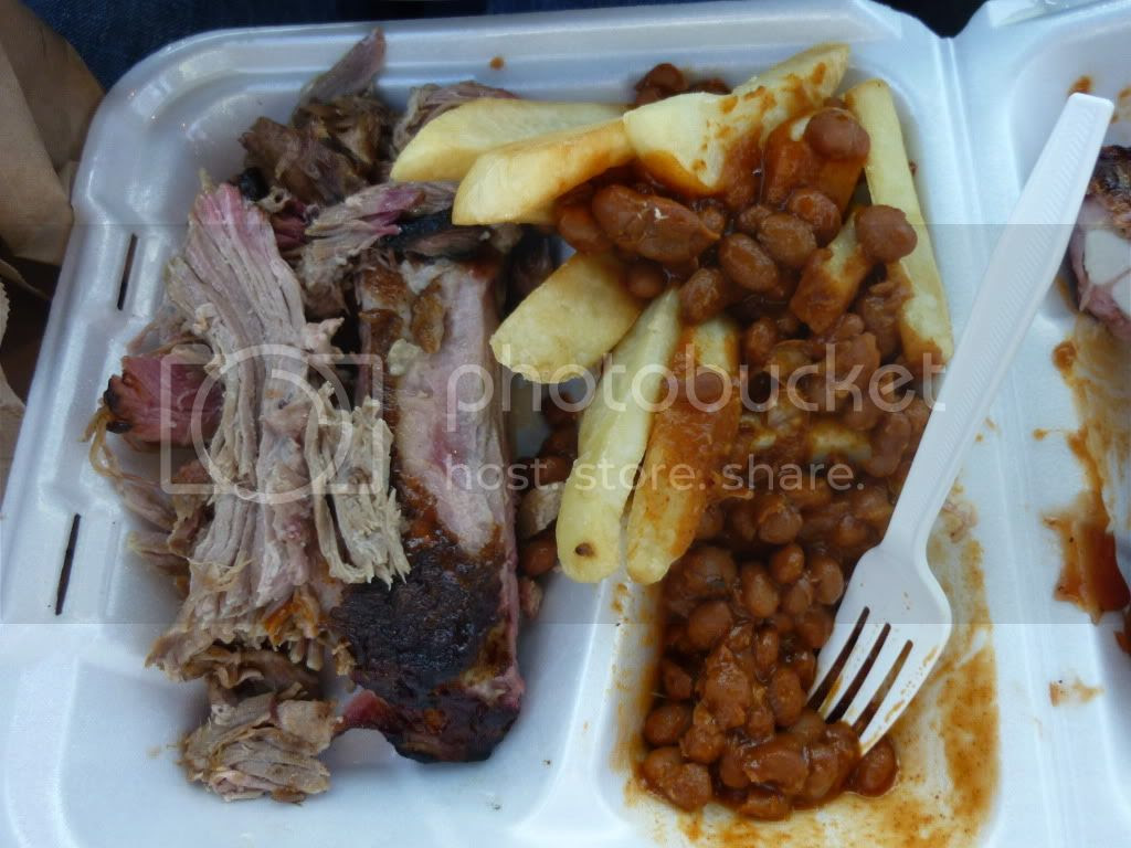 Meal from Cowboy Cuisine Southern BBQ Pictures, Images and Photos