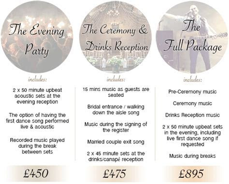 Wedding Musician Prices   Acoustic Guitarist and Singer
