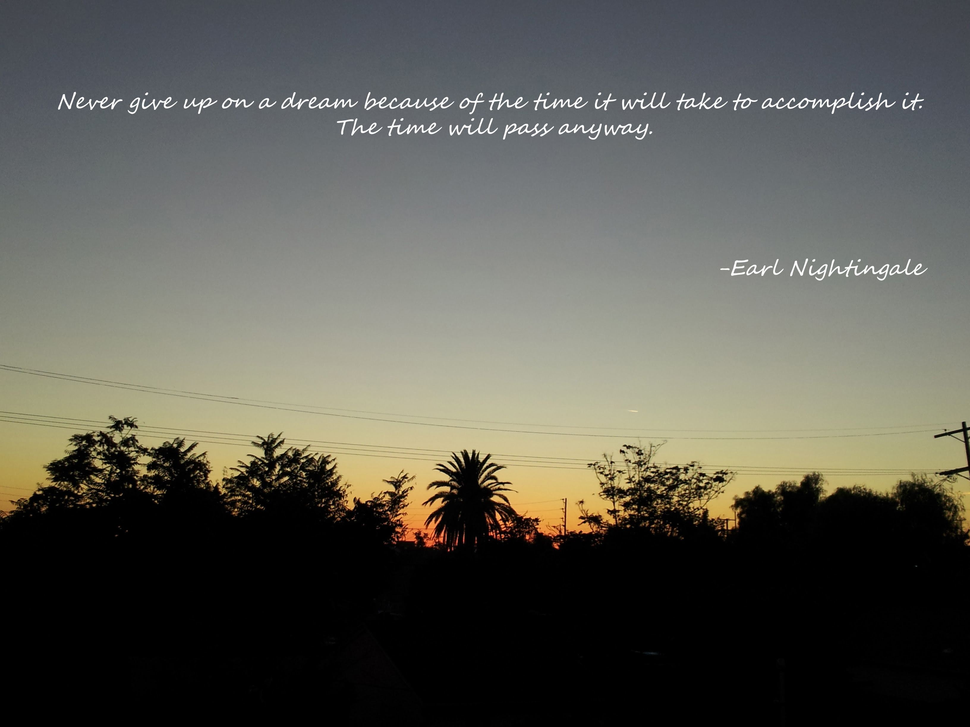 Earl Nightingale Live By Quotes