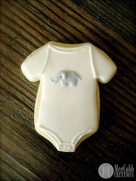 25  best ideas about Onesie cookies on Pinterest   Baby
