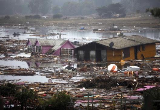 TSUNAMI CHILE 27 DE FEBRERO 2010
