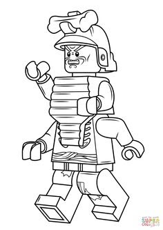 Lloyd Garmadon Coloring Pages At Getdrawingscom Free For Personal