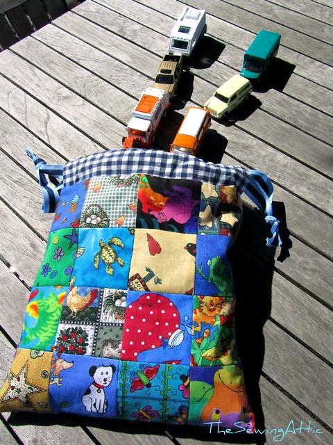 Drawstring bag xmas gift