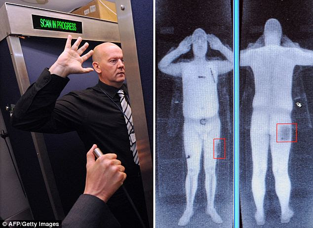 The full body scanners are considered by many as both an invasion of privacy and a health risk