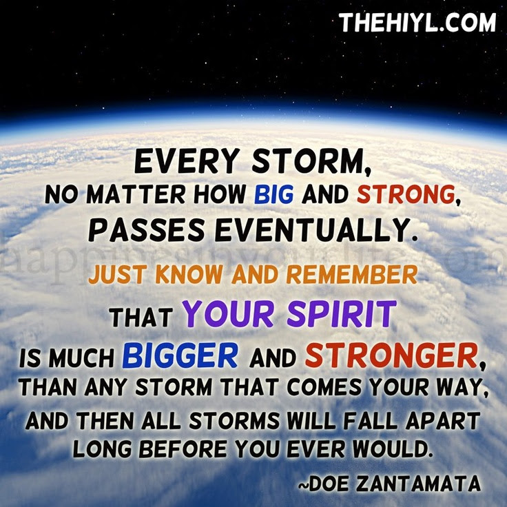 The Storm Shall Pass Quotes