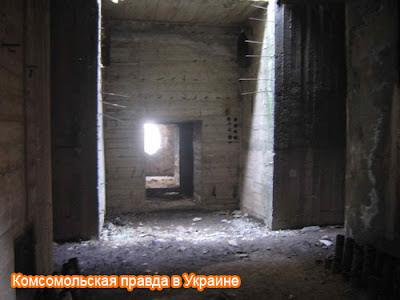 Объект №221. Подземные ходы убежища