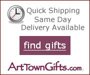 Find great last minute gift ideas at Arttowngifts.com
